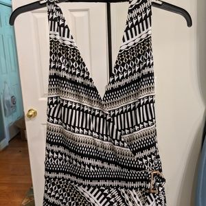 White House Black Market halter maxi dress. NWOT